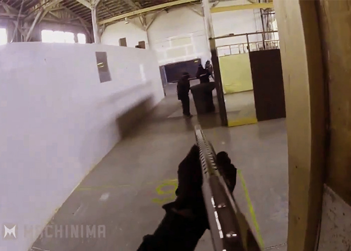 Airsoft Shotgun CQB Video