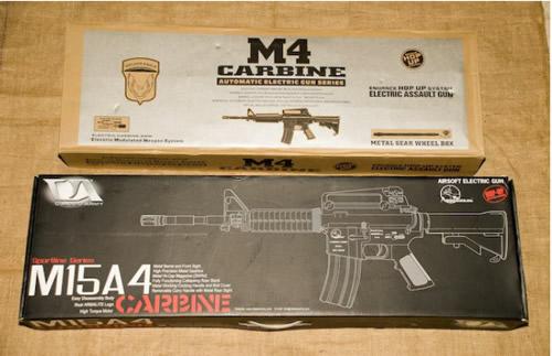 Not Your Mother's China: JG M4 Carbine vs CA Sportline M15A4 Ca_vs_jg_m4_01