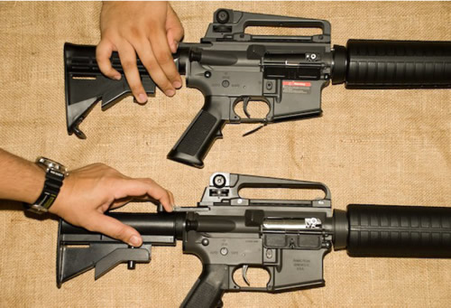 Not Your Mother's China: JG M4 Carbine vs CA Sportline M15A4 Ca_vs_jg_m4_03
