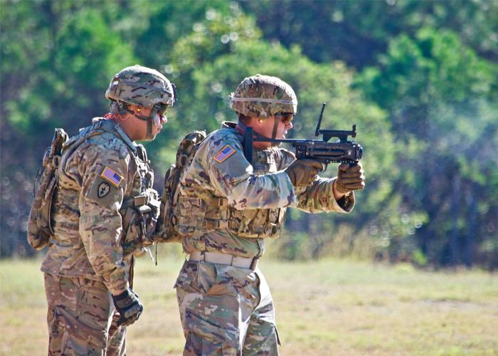 AEWE 2017 40mm Door Breaching Grenade