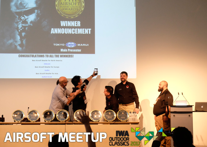 Airsoft Meetup IWA Outdoor Classics 2017 RedWolf Accepting Award