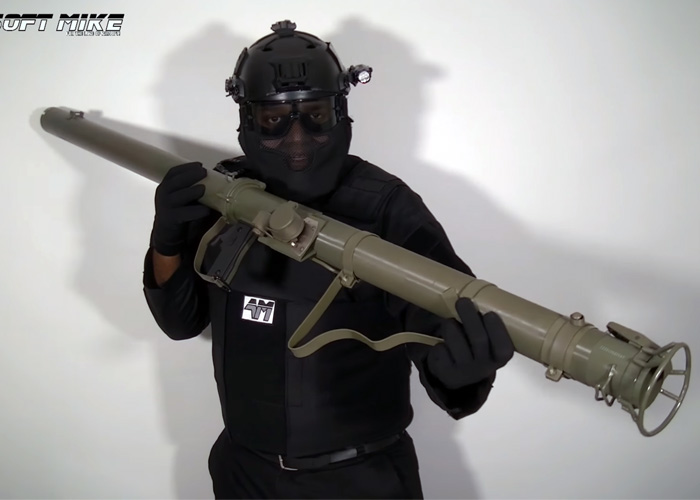 Airsoft Mike: PPS M9A1 Bazooka
