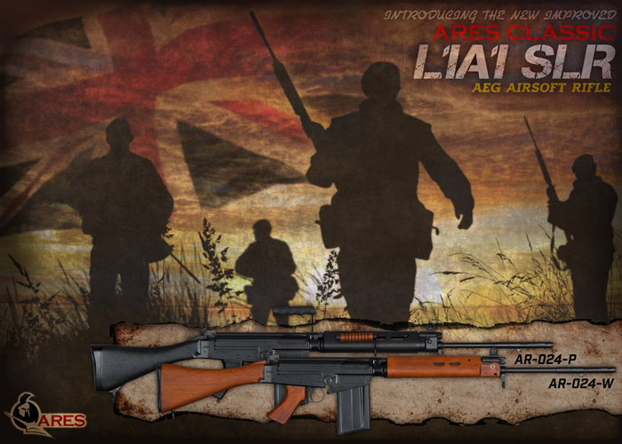 Ares L1A1 SLR Wood Edition