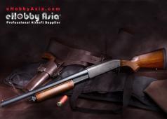 eHobby Asia Tokyo Marui M870 Wood Stock Shotgun