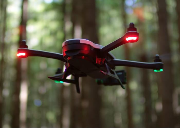 GoPro Karma Drone In Flight