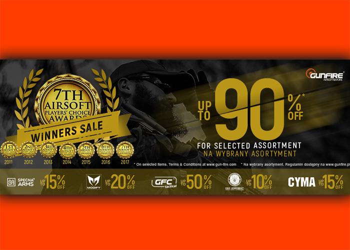 Gunfire Winners Sale 2017