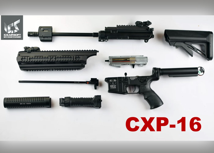ICS Airsoft: ICS CXP16 Disassembly