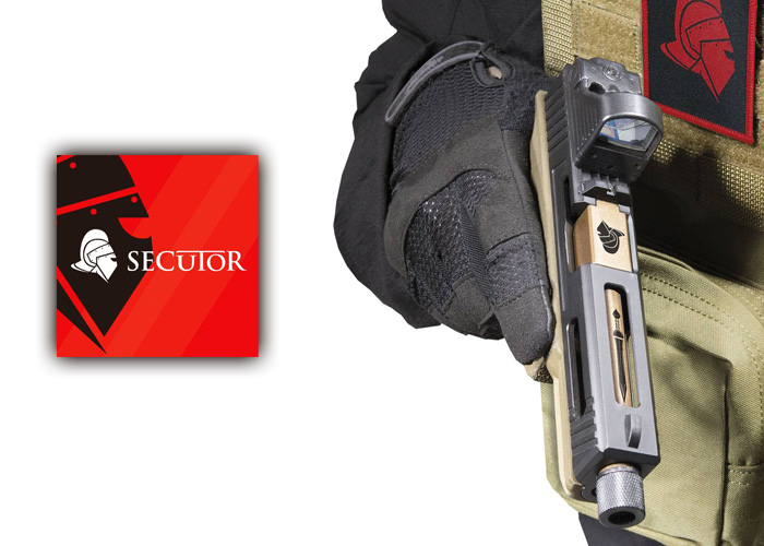 SKW Airsoft Secutor Gladius 17 GBB Pistol