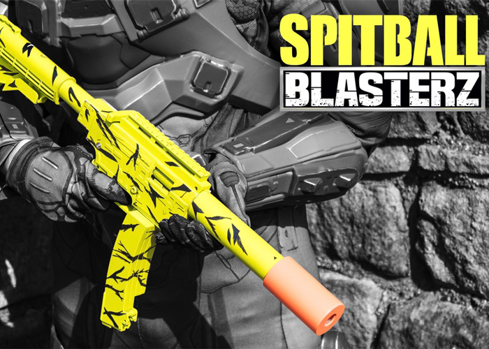 Paper Shooters Spitball Blasterz