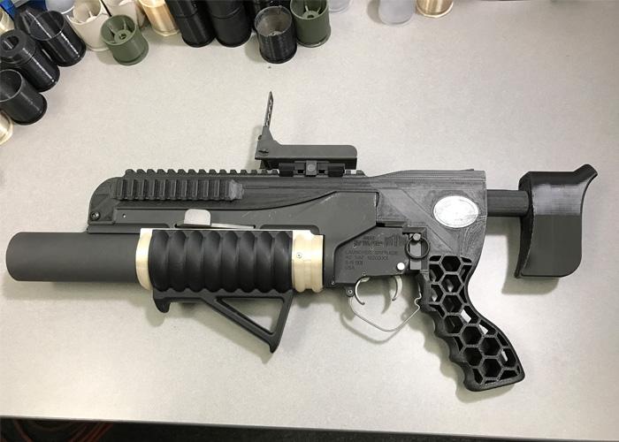 ARDEC RAMBO 3D-Printed Grenade Launcher