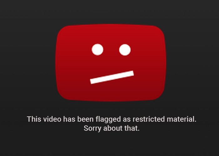 YouTube Restricted Content