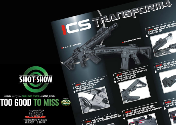 ICS Tranform4 SHOT Show 2014