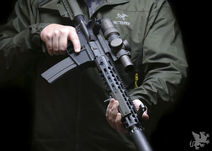 PTS Griffin Armament Low-Pro RIGID Rails
