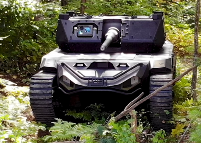 Textron Ripsaw M5