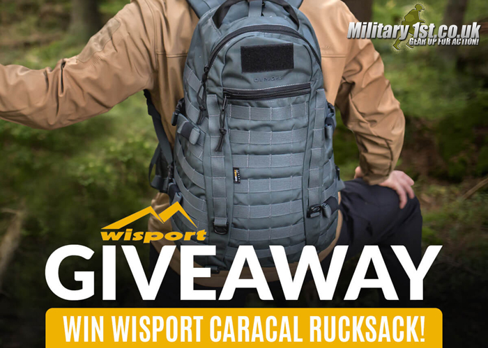 Military 1st WiSport Caracal Bag Giveaway