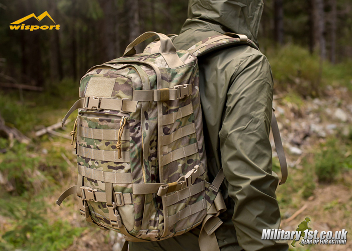 Military 1st: Wisport Sparrow 30 II