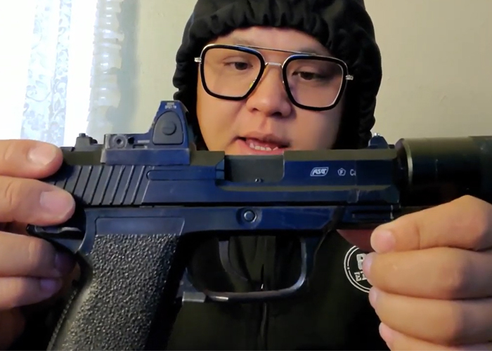 Trung The Maker Stubby ASG MK23 Assassin NBB Modification