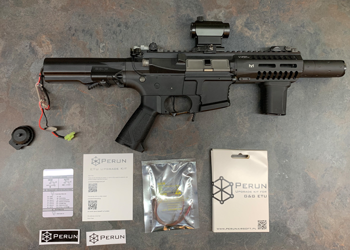 Perun Airsoft G&G ETU Upgrade Kit