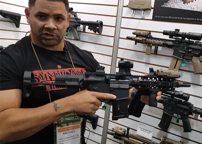 Gunfire TV At The PTS SHOT Show 2020 Booth
