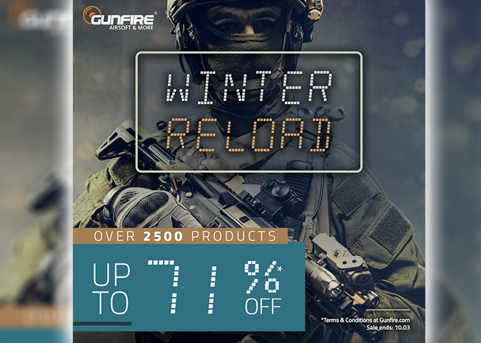 Gunfire Winter Reload Sale 2020