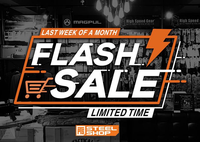 PTS Steel Shop February 2020 Flash Sale