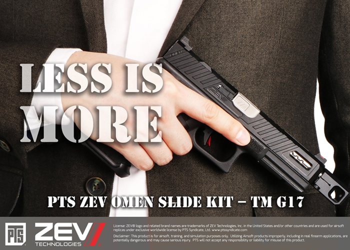 PTS ZEV OMEN Slide Kit TM G17