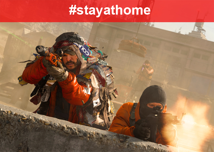 #StayAtHome Call of Duty: Warzone