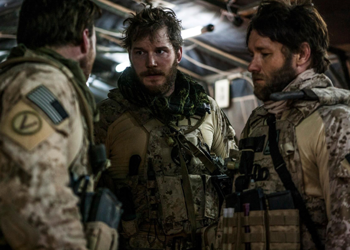 "Chris Pratt in ""Zero Dark Thirty"""