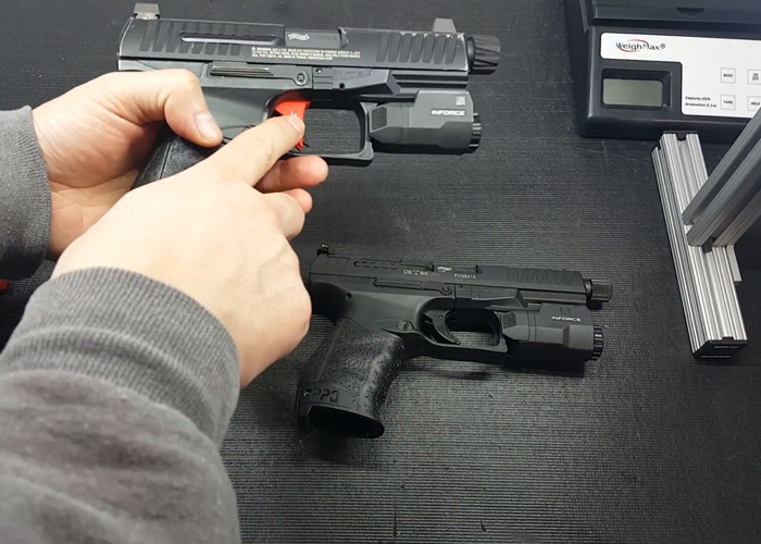 Deranged Airsoft: Comparison Of The Airsoft Walther PPQ To The Real Walther PPQ