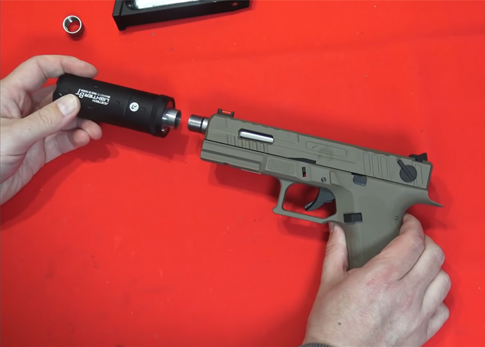 L'Antre Du Dingo KJ Works KP13-F Full Auto CO2 Blowback Pistol