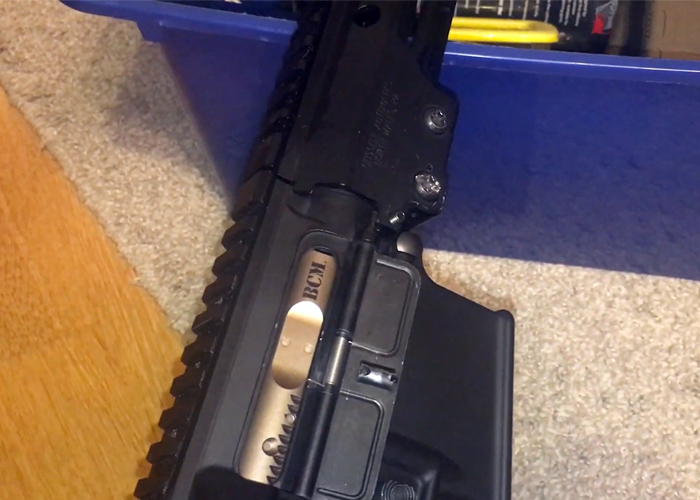 Fantastishik Marui M4 MWS w/ Angry Gun High Speed Bolt Carrier & MPA Nozzle
