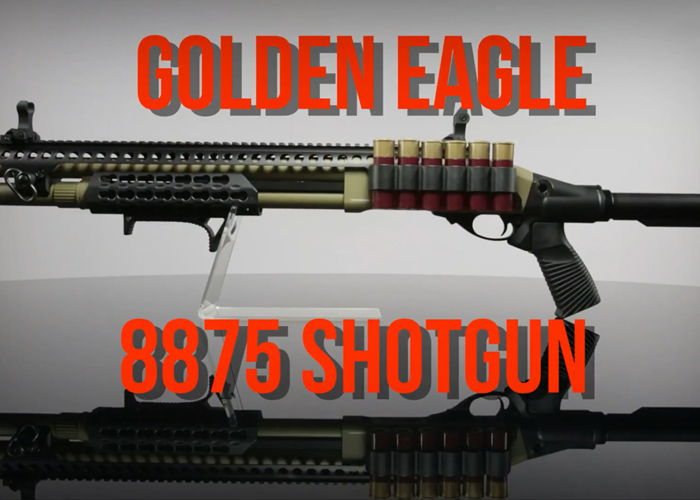 Gunfire Instant Airsoft Video: Golden Eagle 8875 Shotgun