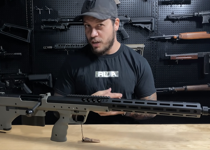 RWTV On The New Silverback SRS-A2 Airsoft Sniper Rifle