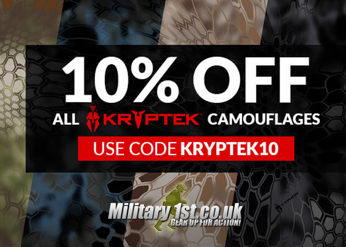 Military 1st 10% Off Kryptek Camo Gear 2020