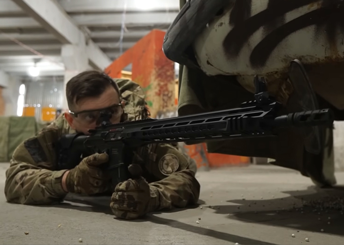 Red Army Airsoft Checks The ICS CXP-MARS DMR