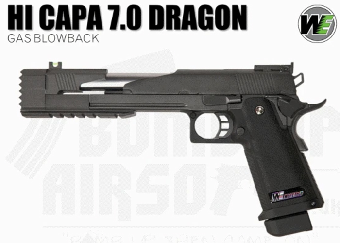 Bomb Up Airsoft WE Hi-Capa 7.0 Dragon GBB