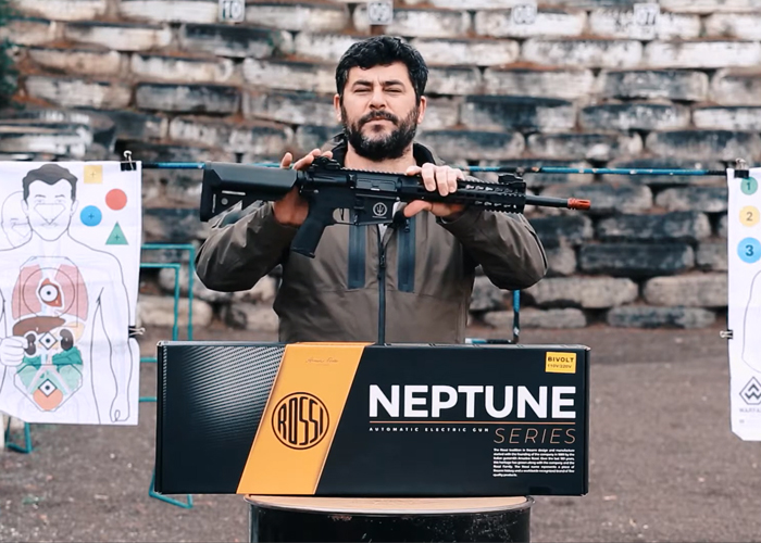 "Lages Airsoft ROSSI AR15 Neptune Keymod 10"" AEG"