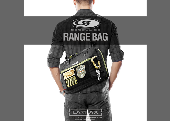 Laylax Satellite Range Bag Soft Handgun Case