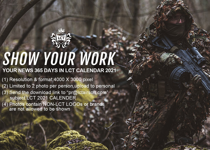 LCT Airsoft 2021 Calendar Contest