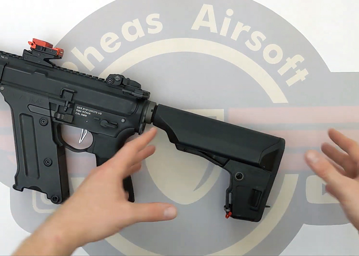 Pheas Airsoft: How To Remove The KWA PTS EPS Stock