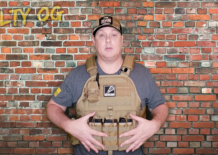 Salty Old Gamer: GFIRE Modular Plate Carrier For Big Boys