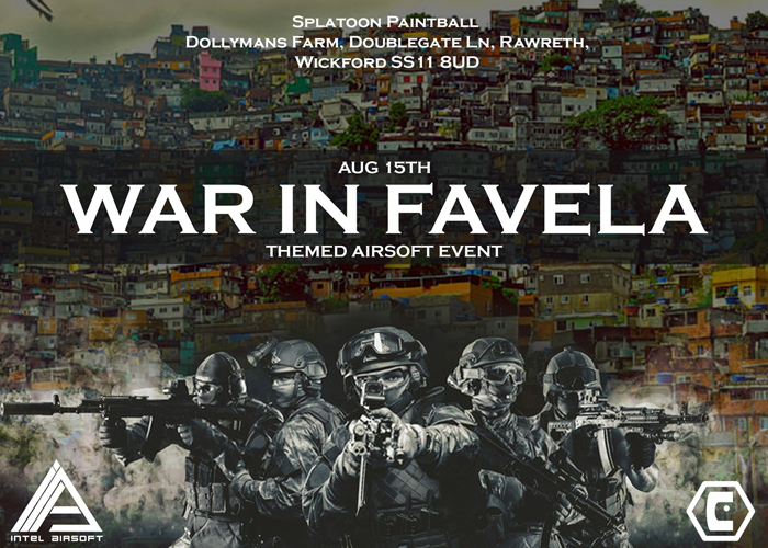 Intel Airsoft War In Favela Event 15 August