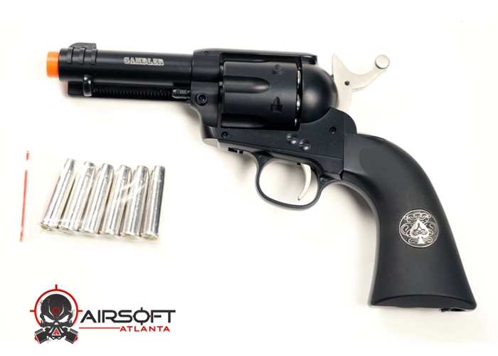 Airsoft Atlanta Limited Edition Elite Force Gambler CO2 Revolver