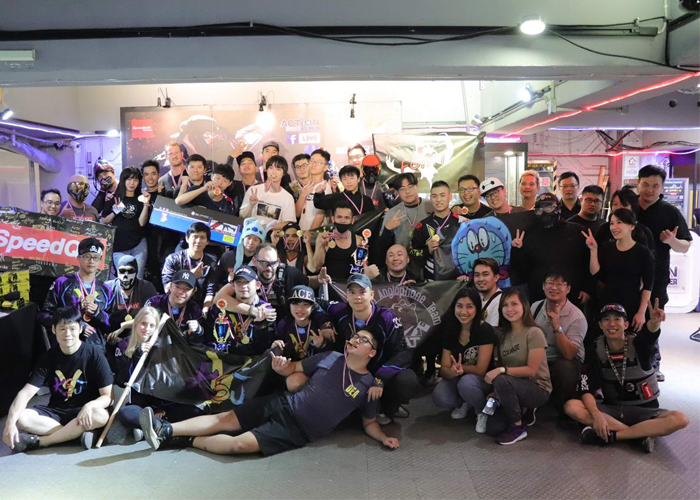 Action Bunker SpeedSoft Taiwan 1st Competition Teams