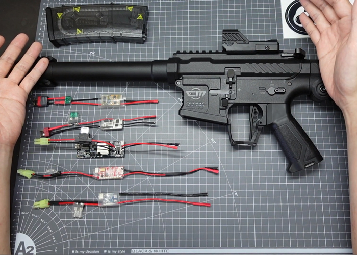 ShinWei Chiou Homemade AEG Control Board For G&G SSG-1