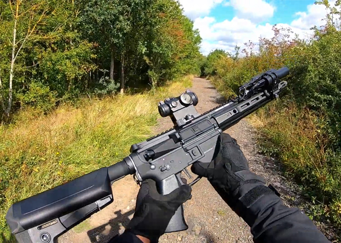 JAG Airsoft's Krytac Trident MKII CRB Gameplay
