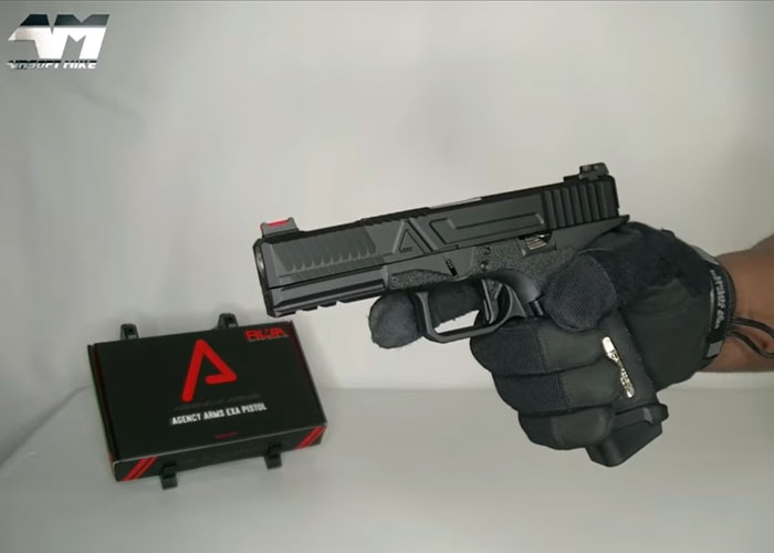 Airsoft Mike's RWA Agency Arms EXA GBB Pistol Unboxing