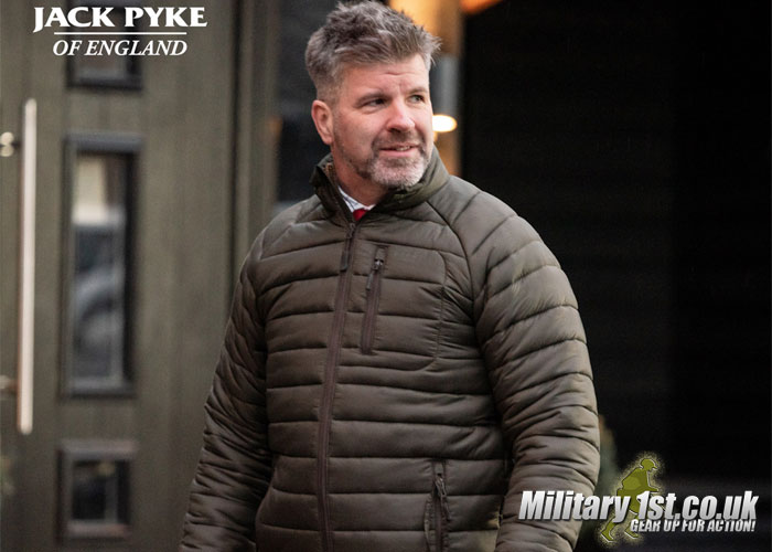 Military 1st: Jack Pyke Weardale Quilted Jacket