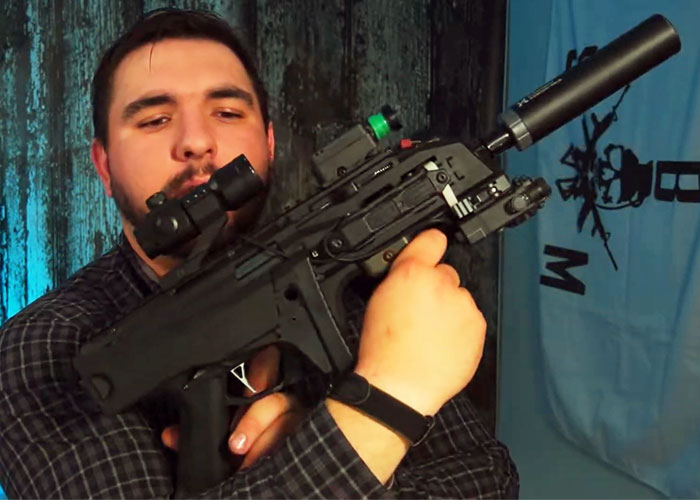 PackMule Airsoft ASG Scorpion EVO A3 Dual Sector Gear Build