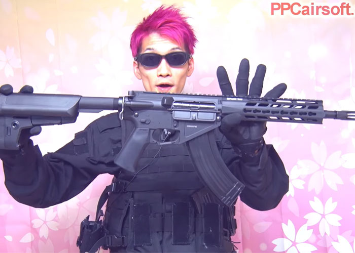 PPC Airsoft Krytac Trident 47 CRB AEG Shooting Review